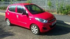 Hyundai i10 Full Mot 13 months. £20 Road Tax