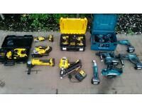 Makita dewalt power tools