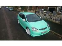 *!ONE OFF HONDA CIVIC EP3 TYPE-R!++ MINT GREEN ++ L@@K!*