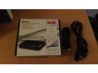 dion single scart Low energy Digital Freeview Set top box