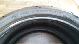 190x50x17 and 120x70x17 Sports touring tyres.