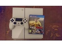 playstation 4 500gb with pes 2016 game