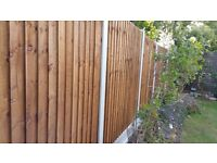 SUPERIOR FENCING AND CLEARENCE ** 30FT FENCE SUPPLIED AND FITTED FROM £ 399.00 .******