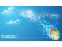 WINDOWS 7 INSTALL FRESH CLEAN NEW - PC LAPTOP COMPUTER CHEAP REPAIR REMOVE VIRUS BARGAIN £25