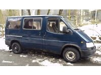 LEFT HAND DRIVE - FORD TRANSIT 2.5TD - MINIBUS - 8 SEATER - AUTOMATIC - LHD - WORKING ORDER - EXPORT