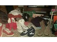 Assorted items, ideal for anyone doing a car boot.