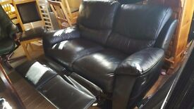 Couch 2 seater recliner