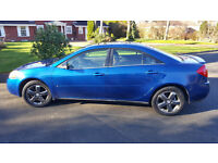 Pontiac G6 GT US 4-door Sedan/Saloon with full leather and sun and sound package -1 owner since new