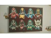 star wars avengers stormtroopers Canvas Picture