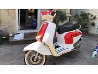 Vespa / lambretta 125cc showbike covered 60miles