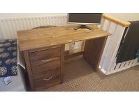Chester Desk - Dark Pine