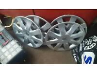 Clio wheel covers