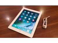 APPLE IPad with Retina Display Wi-Fi 16GB - White 4th Generation -Unboxed