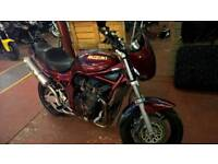 Suzuki mk1 bandit 1200, fortune spent , low miles , may px , even project, can deliver,