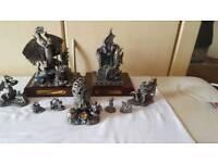 Myth & Magic Pewter Dragon Colection