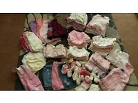 0-3 months girl bundle (over 80 items)
