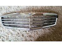 MERCEDES FRONT GRILL MODEL NUMBER W204