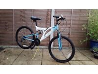 Mountain bike - childs full suspension mountain bike. Excellent condition