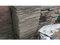 Paving Slabs Job Lot 35+ Whole slabs