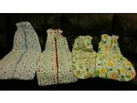 Bundle of baby sleep bags / grobags