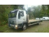 MAN LE8 180 7.5t beavertail plant lorry, ideal for diggers tractor etc Recovery truck
