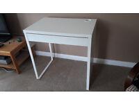 As-new IKEA Micke computer desk