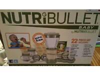 Nutri Bullet Baby food mixer blender
