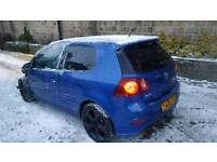 VW GOLF R32 -S DSG DAMAGED REPAIRABLE 100% UNRECORDED