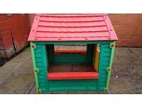 childrens garden play house