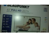 """brand new 43"""" HD LED tv still in box unopened £180 ono"""