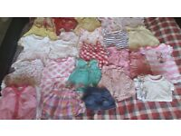 38 item baby girl newborn summer bundle