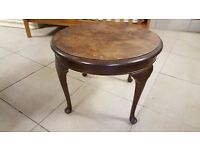 Small Round Vintage Side Table in Good Condition