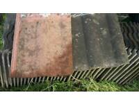 BCC red or brown roof tiles reclaimed
