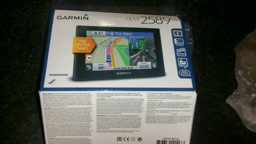 Gps garmin 2589 LMin Southampton, HampshireGumtree - Gps Garmin Nuvi 2589 LM like new.screen protector from first day