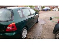 Honda Civic 2001 1.6 petrol