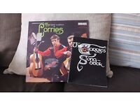 CORRIES SONGBOOK AND VINYL RECORD