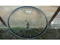 "Mountain bike front wheel 26"" qr"