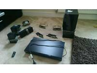 Selling my Samsung 3d blu ray player with surround sound