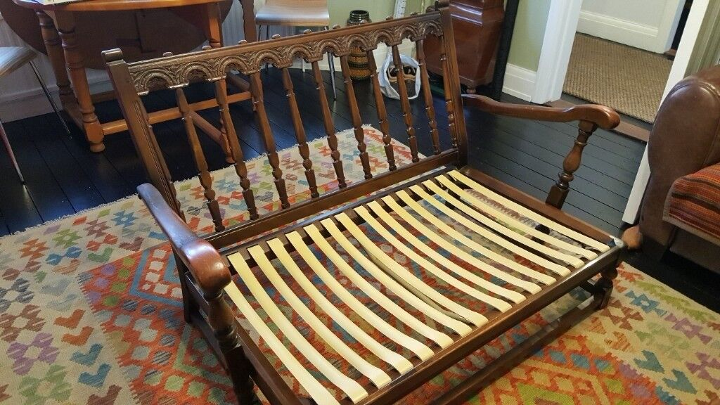 Ercol Wooden Sofa For Sale Reduced Price 45 Bargain In Felixstowe Suffolk Gumtree