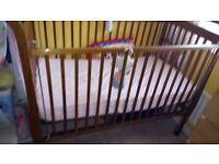 Cot bed pine from USA