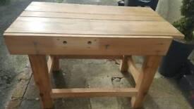 Work bench/kitchen table