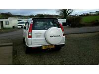 Honda CRV Sport White Diesel 55 Registration