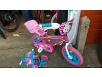 Hello kitty bike for age 3-5