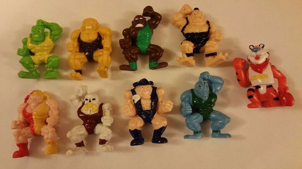 Monster Wrestlers in My pocketTony the Tiger Coachin Hayling Island, HampshireGumtree - Monster Wrestlers in My pocket plus Tony the Tiger Coach Set of 9 Good condition £9.99 Free Delivery