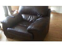 Leather armchair - Sofaworks