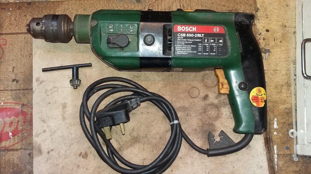 Bosch Hammer Drill Driver Csb 850 2rlt Tool In Hebburn