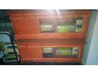 brand new 4ft joiner built rabbit guinea pig hutch