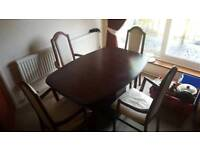 Mahogany Dining Table&Chairs