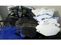 Yamaha yz 125 spare plastics