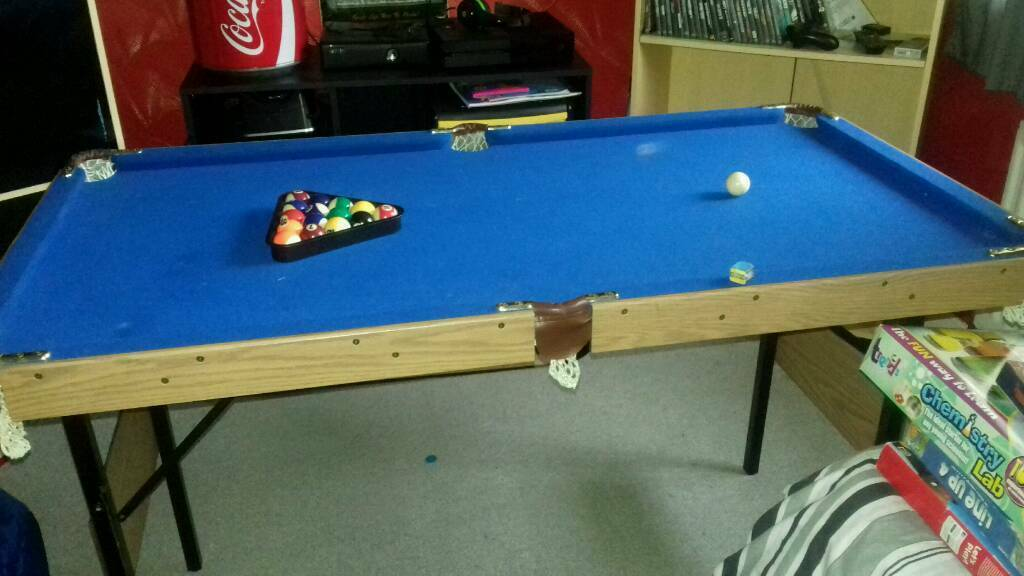 4 foot junior pool table | in middlesbrough, north yorkshire | gumtree